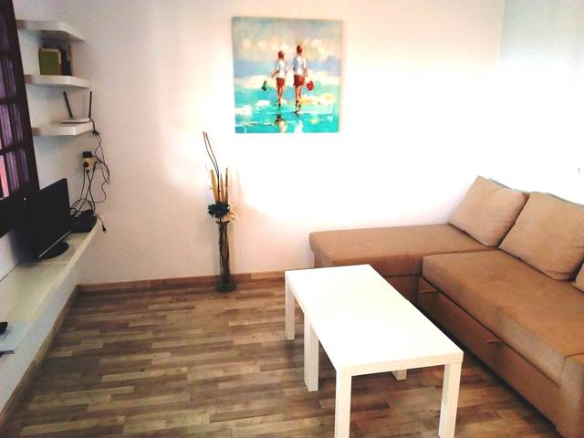 Refurbished front line apartment in San Jaime