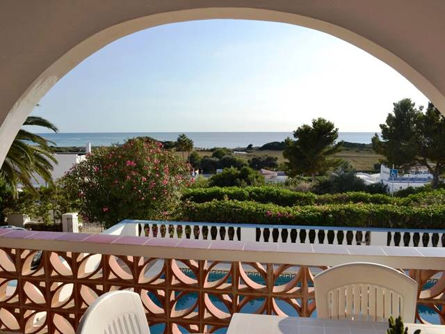 Charming villa with sea views in San Jaime